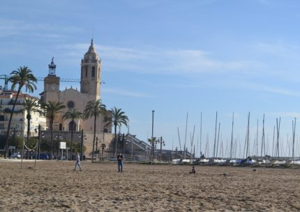 Carnival city of sitges, near Barcelona