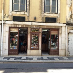 Old shop in Lisbon