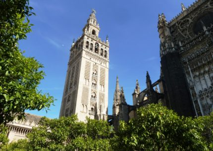 Monuments of Seville in the Spanish south