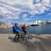 Barcelonas old port by bike