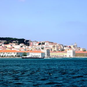 Lisbon from the Margem Sul