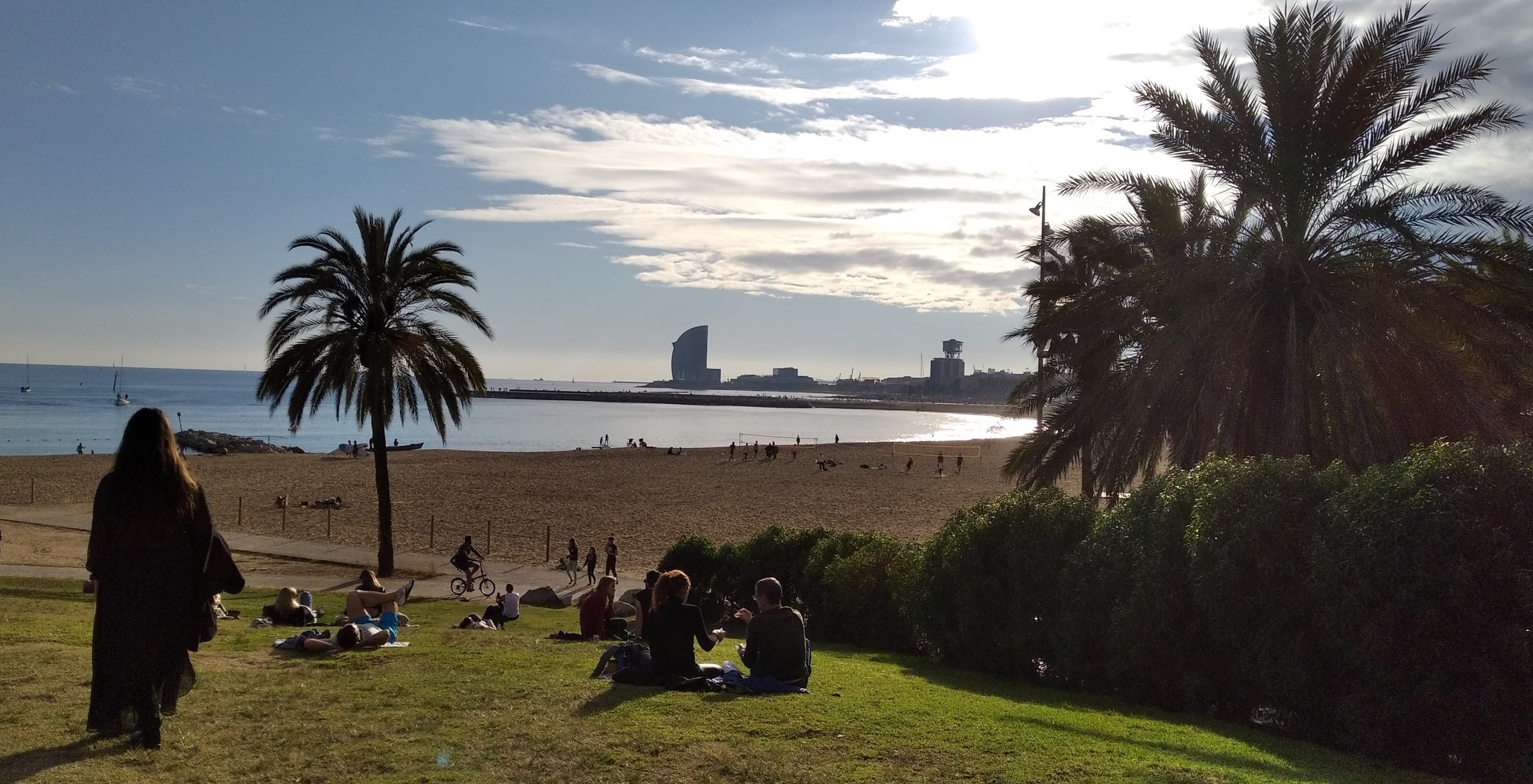 Barcelona seafront tour for small groups