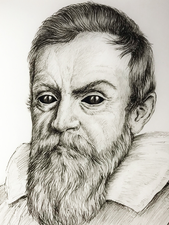 Galileo Galilei is one of the most important astronomers ever
